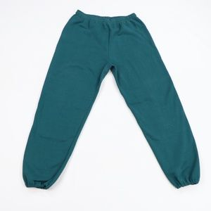 NOS Vintage 90s Streetwear Blank Jogger Pants USA